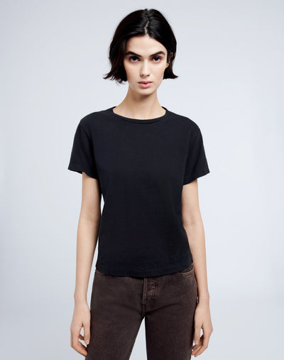 Heritage Cotton Classic Tee - Washed Black