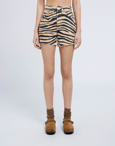 50s Cutoffs - Tiger Print