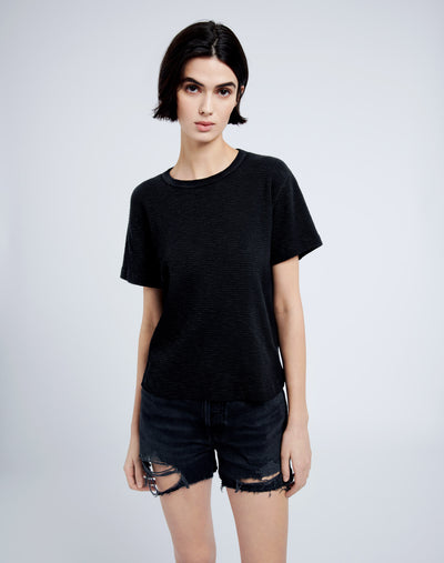 Thermal Short Sleeve Tee - Black