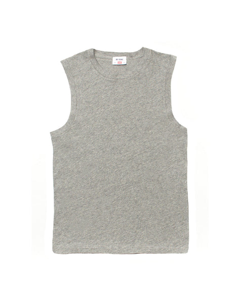 The Muscle Tee - Heather Grey