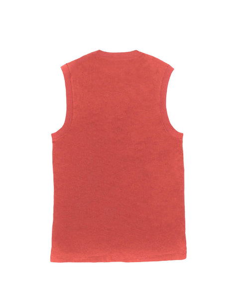 The Muscle Tee - Vintage Red