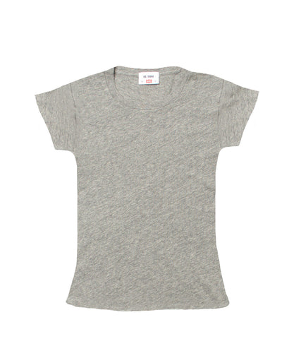 The 1960s Slim Tee - Heather Grey