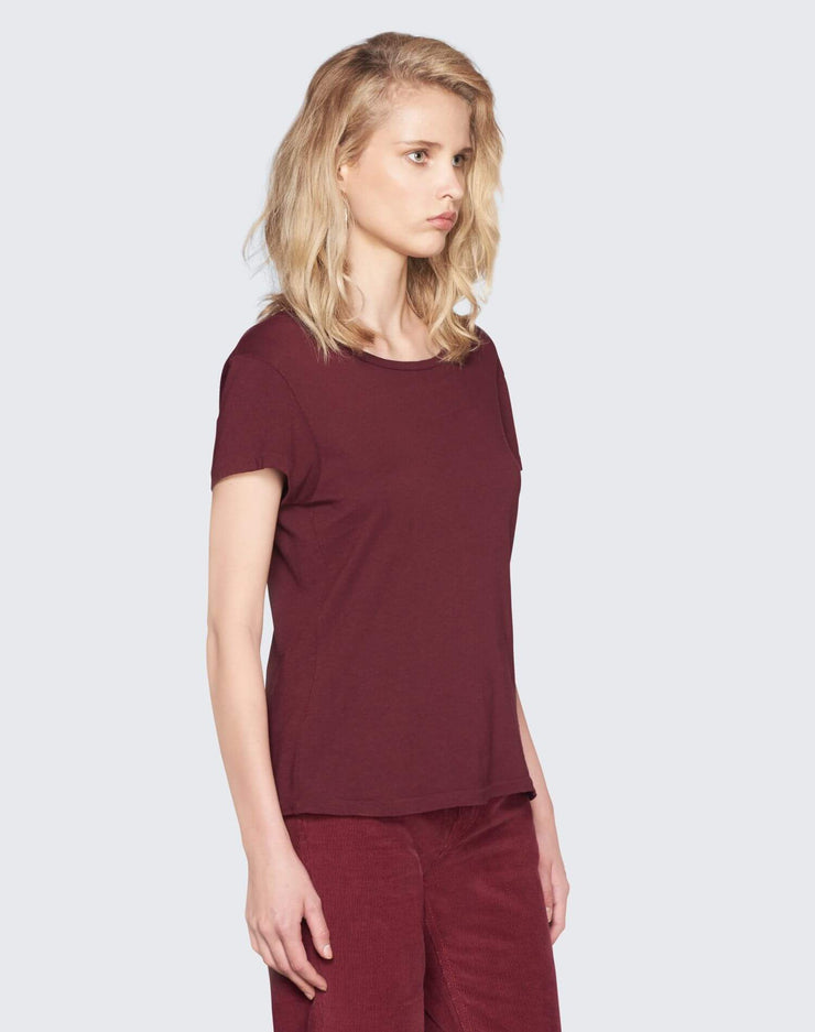 The 1960s Slim Tee | Burgundy | 024-2WSL6 | 2