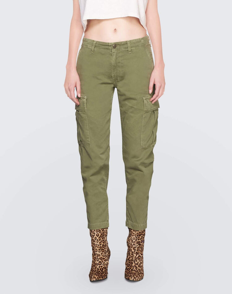 Cargo Pant | Army Green | 324-6WCPG | 1