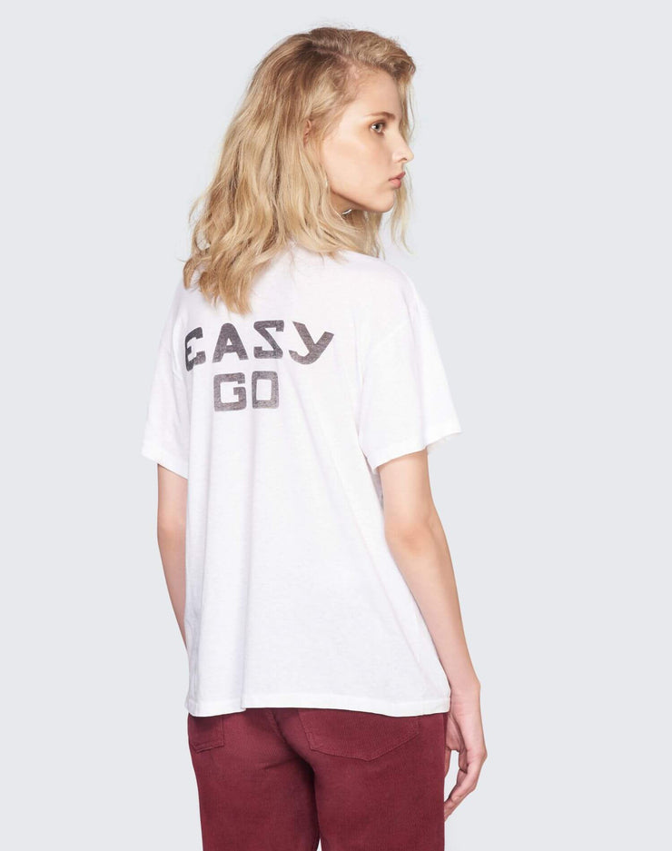 Girlfriend Tee Easy Graphic | Optic White | 030-2WGFT1 | 4