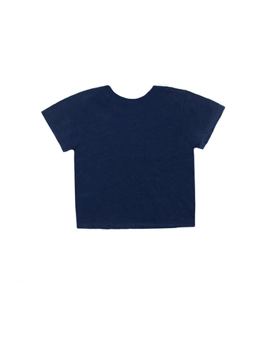 The 1950s Boxy Tee - Royal