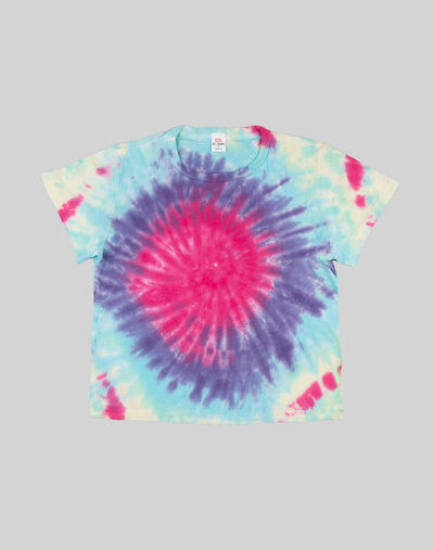 The Classic Tee - Spiral Tie Dye