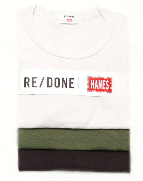 Hanes Boxy 3 Pack – Vintage White, Vintage Black, & Jungle