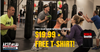 3 MAX10 Fitness Classes + FREE T-Shirt