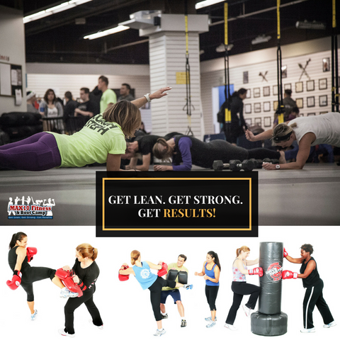 MAX10 Fitness Fall 10-Week Boot Camp