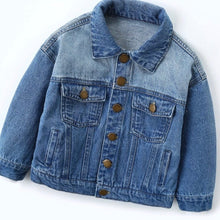 Load image into Gallery viewer, Toddler Jean Jacket