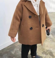 Load image into Gallery viewer, Toddler Boys Pea Coat