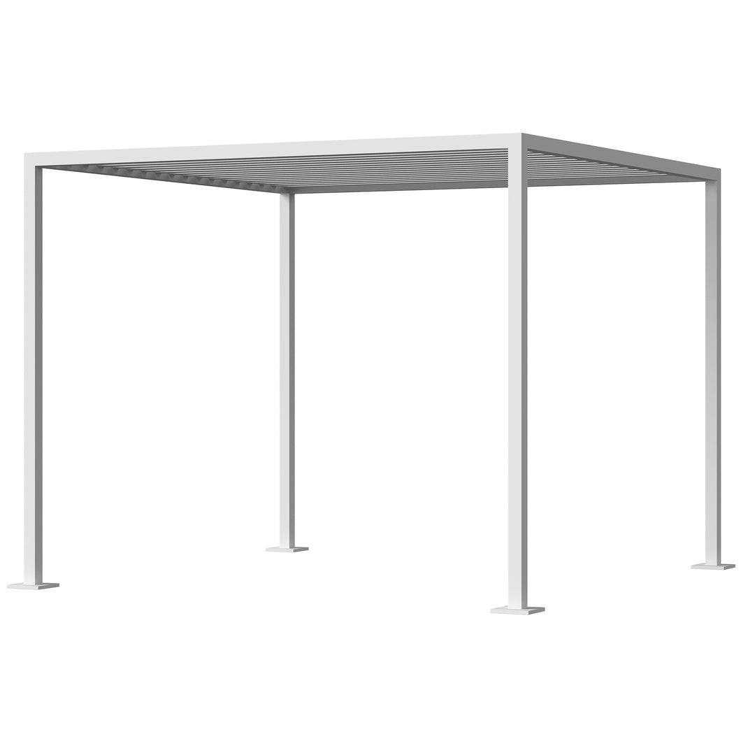 Breeze Cabana 10' Optional: Aluminum Slats - Top