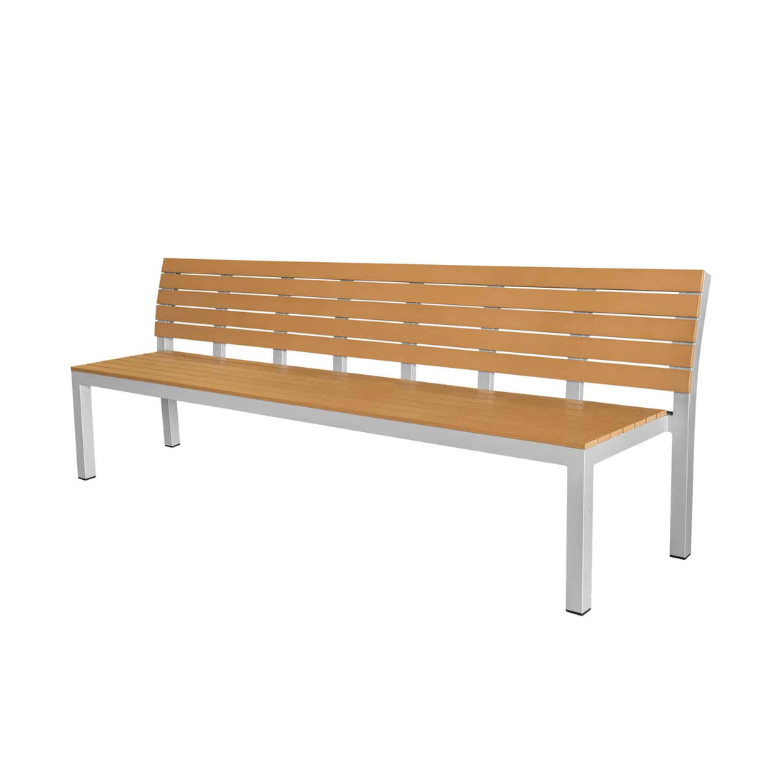 Vienna 8' Highback Bench