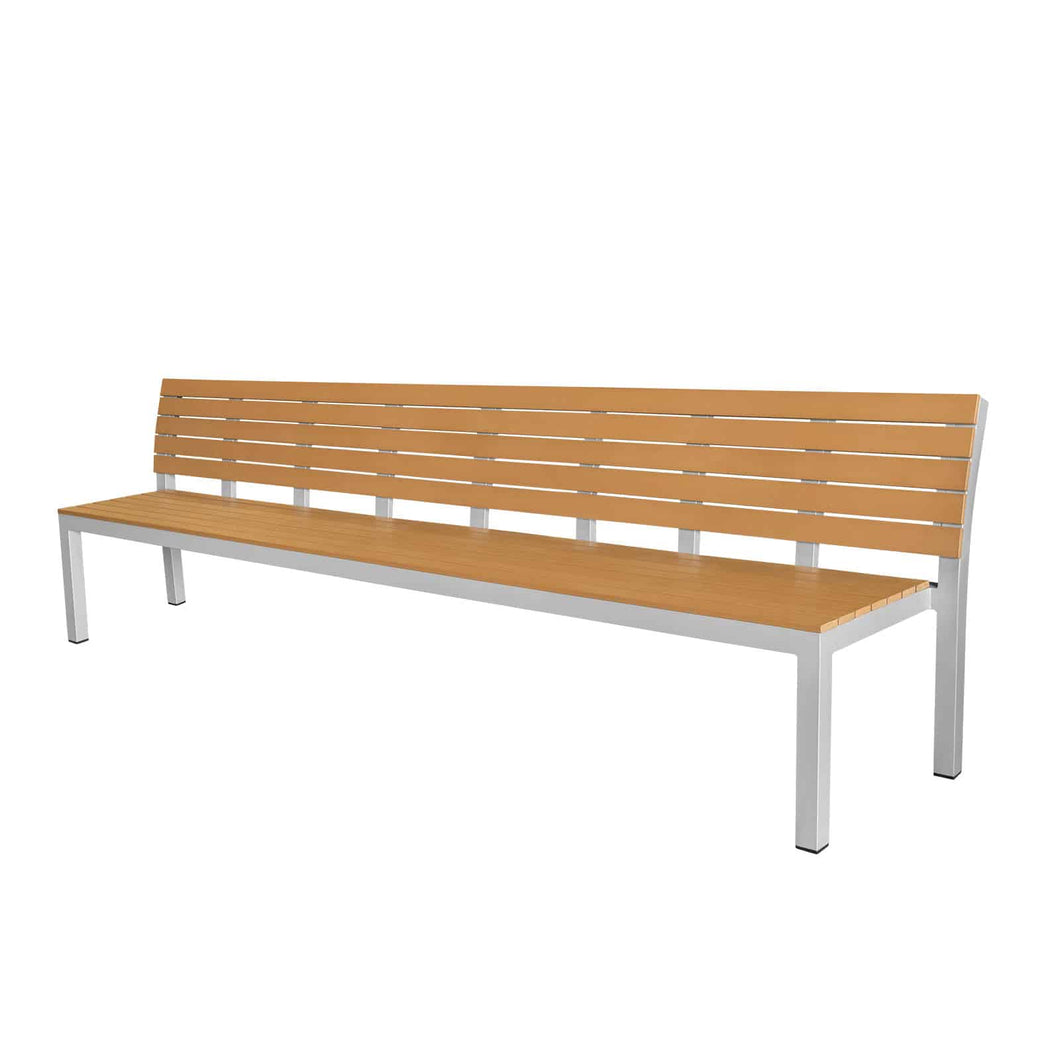 Vienna 10' Highback Bench