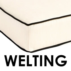 Optional Welting- Pillow Cushions