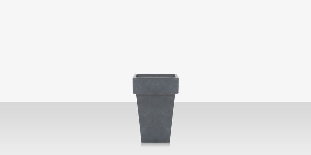 Elements Concrete Planter (Square with Edge) - Style 3