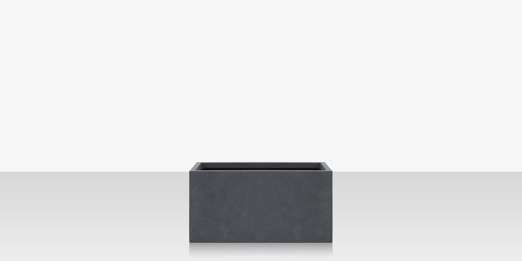 Elements Concrete Planter (Rectangular) - Style 4