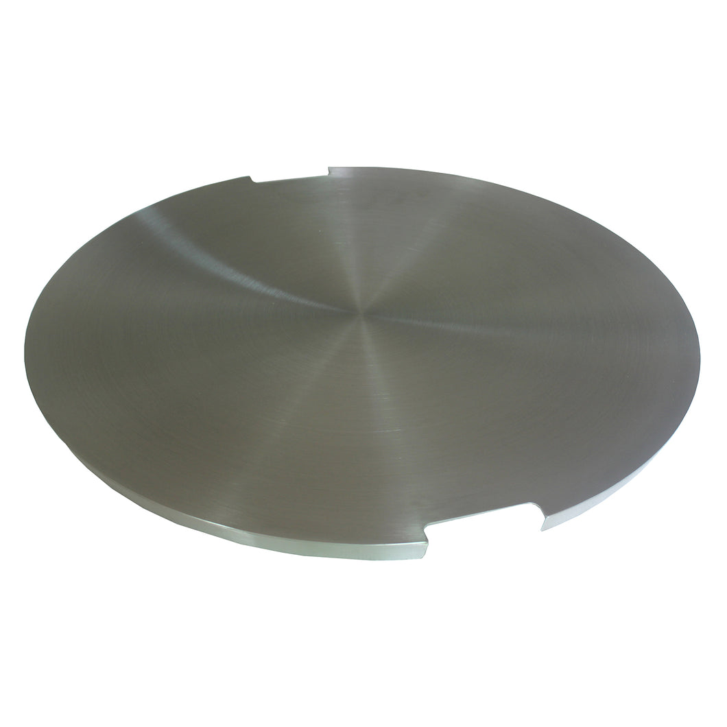 Elements Concrete Fire Pit Metal Top Cover (Round)
