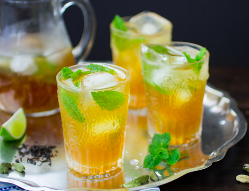 Mint Tea Mojito Recipe
