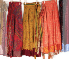 Sari Wrap Skirt/Dress