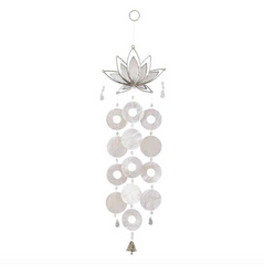 White Lotus Windchime