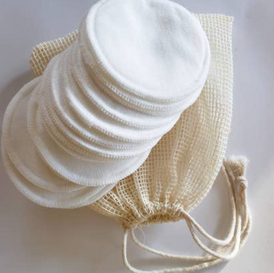Organic Reusable Cosmetic Cotton Rounds