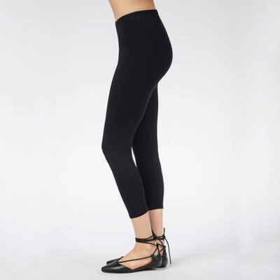 Bamboo & Organic Cotton Capri Legging