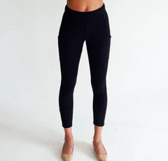 Bamboo & Organic Cotton Side Pocket Legging