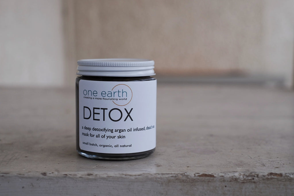 DETOX- Dead Sea Clay & Argan Oil Mask