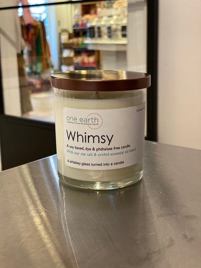 Whimsy Soy Candle (Sea Salt & Orchid)