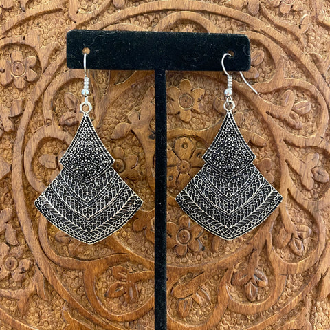 Tri Drop Earrings