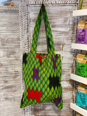Ally Kitenge Shopping Bag