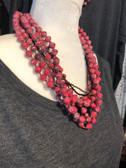 Red Rosy Necklace