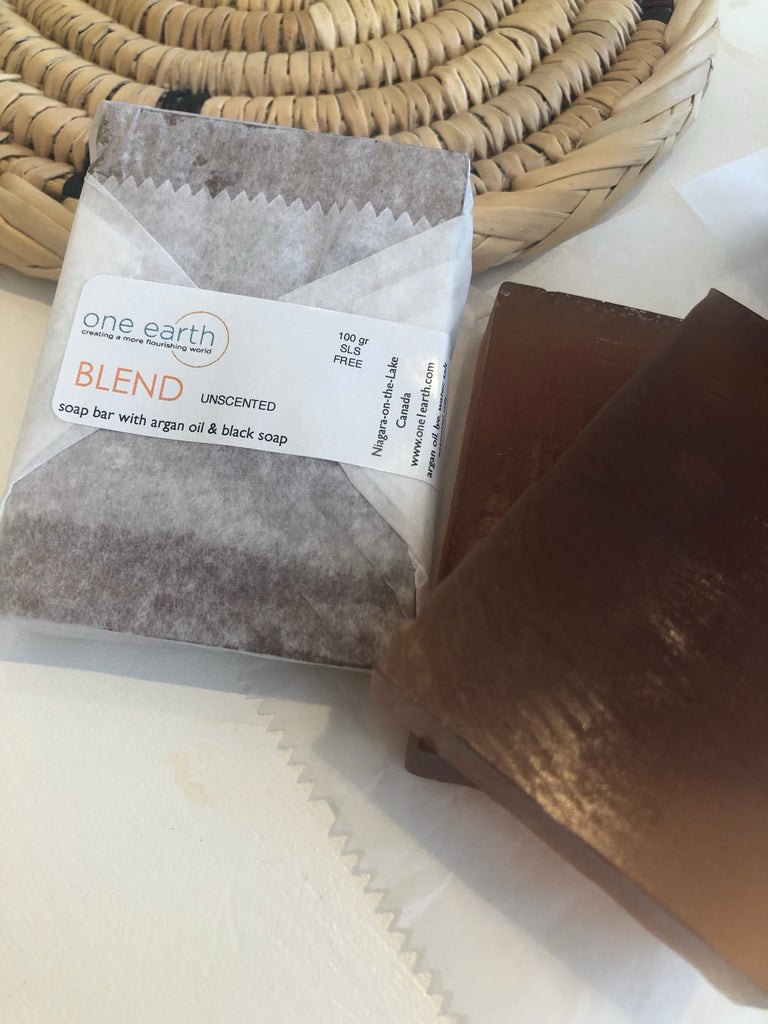 BLEND- Argan Oil & Black Soap-  Soap Bars