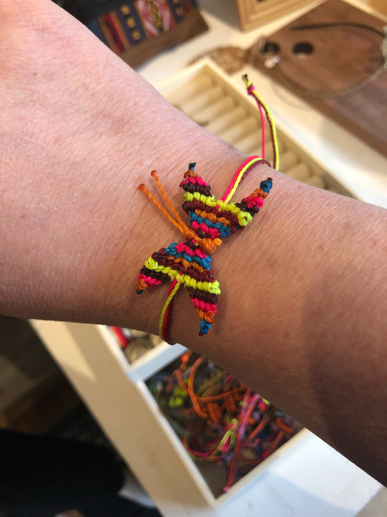 Butterfly Friendship Bracelets