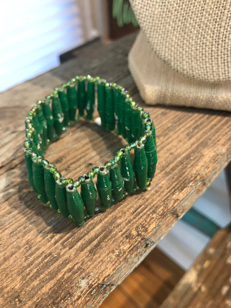 Green Up & Down Bracelet
