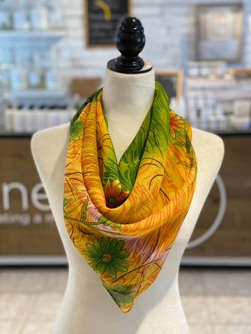 Magical Sari Square Scarf