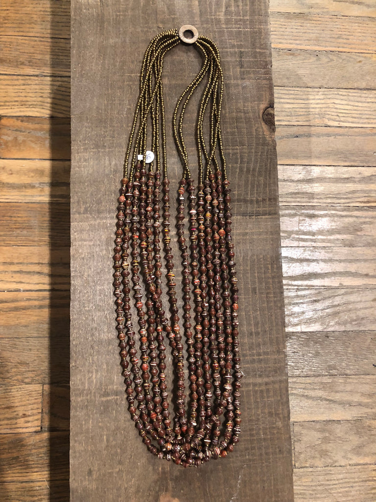 Believe Brown Necklace