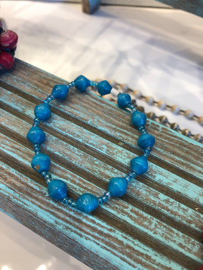 Friendship Bracelet - Blue