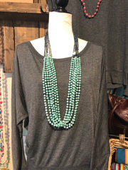 Believe Mint Necklace