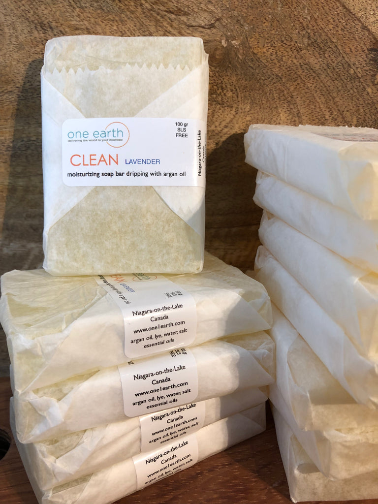 CLEAN- Argan Oil Soap Bars
