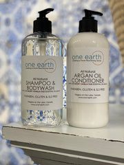 NEW! Smoky Vanilla & Oud Hair Conditioner with Argan Oil