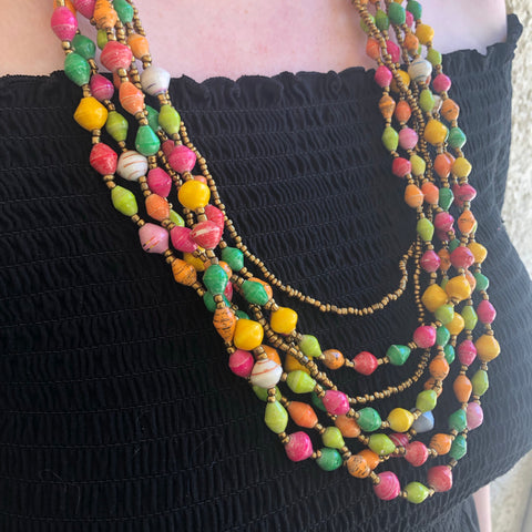 Brightly Colour Necklace