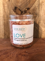 Vanilla & Argan Oil Bath Salt Soak