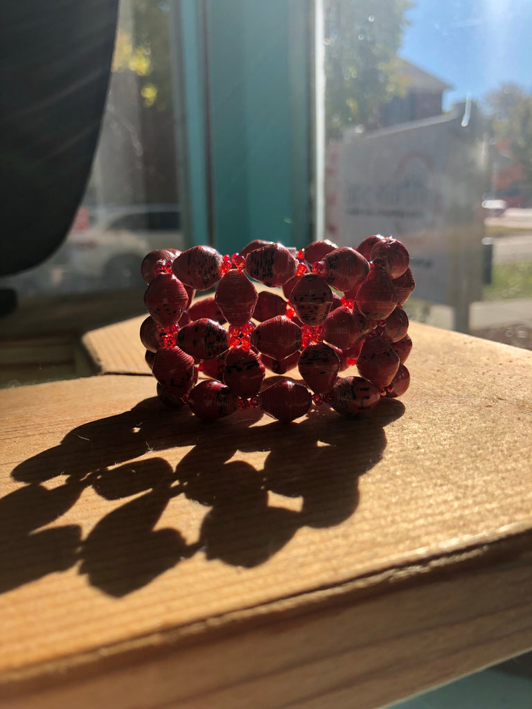 Red Starshine Bracelet