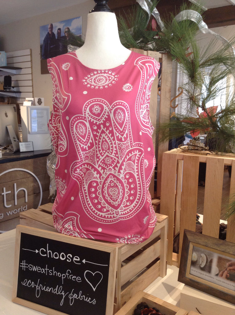 Hamsa Loose Fitting Long Tank