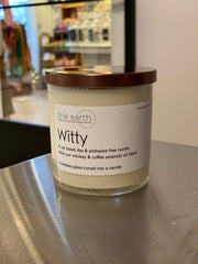 Witty Soy Candle (Whiskey & Coffee)