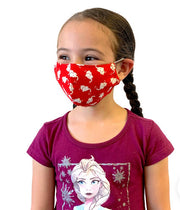 Kids (age 2-4) Red Elephant Face Mask