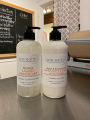 NEW - Hand Wash Pumpkin Spice & Vanilla